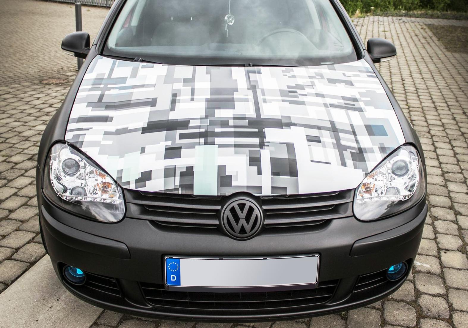 camouflage folie technic aufkleber pixel tuning car. Black Bedroom Furniture Sets. Home Design Ideas